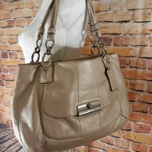 Coach large hobo kristen tote shoulder bag
